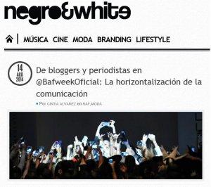 de bloggers y periodistas