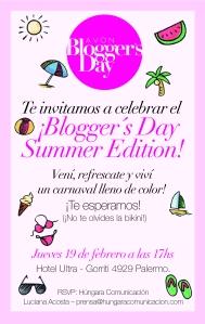 invitacion bloggeras 14 DE octubre