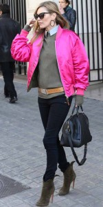 modazip kate bomber rosa