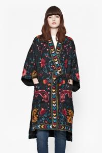 modazip kimono poppy french