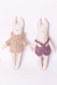 modazip La Botega - Conejos by Fruto del Bosque $280 copia