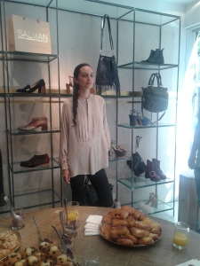 Mariana Schurink, estilista de Harper's Bazaar Argentina