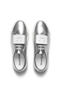 modazip calzado metalizado acne
